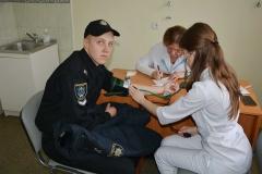 Курсанти та студенти університету долучилися до добровільної благодійної акції.