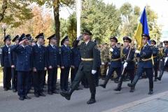 Курсанти ДДУВС взяли участь в урочистостях з нагоди осіннього призову до Збройних Сил України