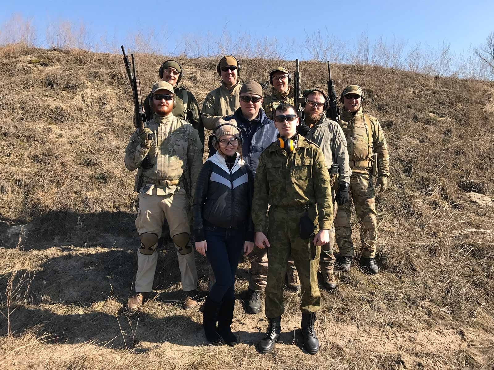 Курсанти ДДУВС взяли участь у майстер-класі з прикладної стрільби