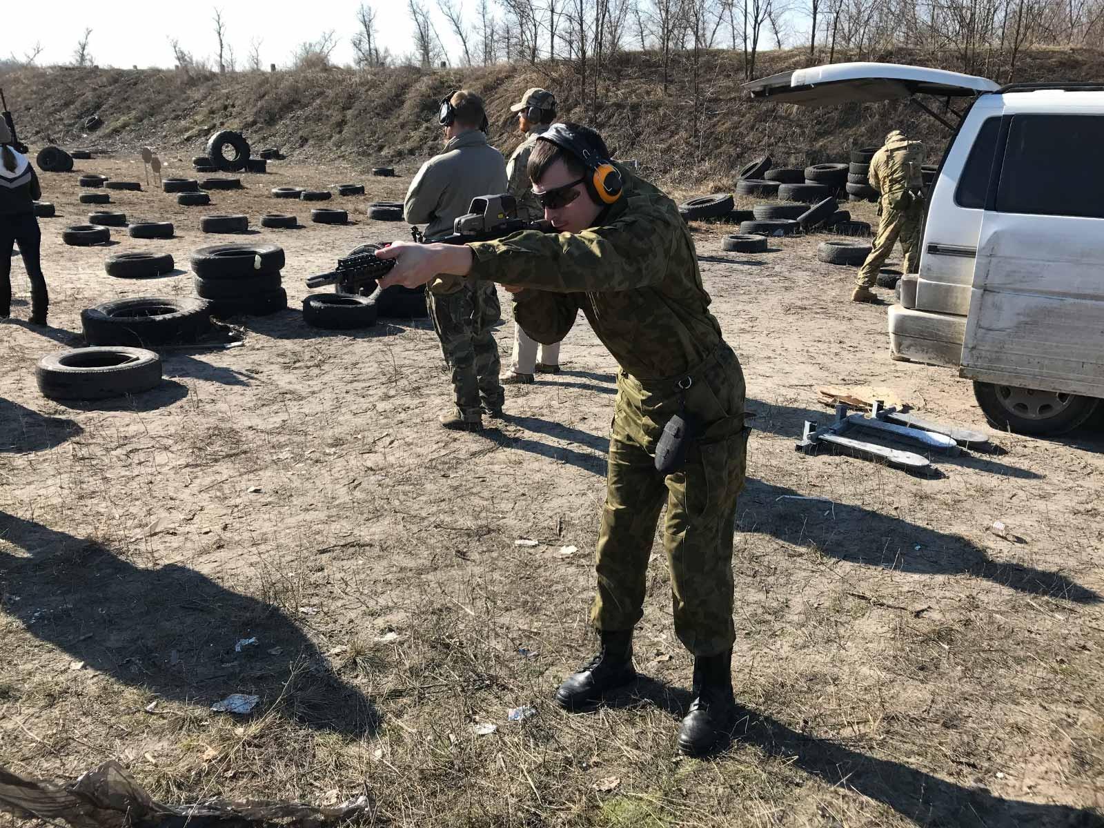 Тренування на території навчально-тренувального центру ДДУВС