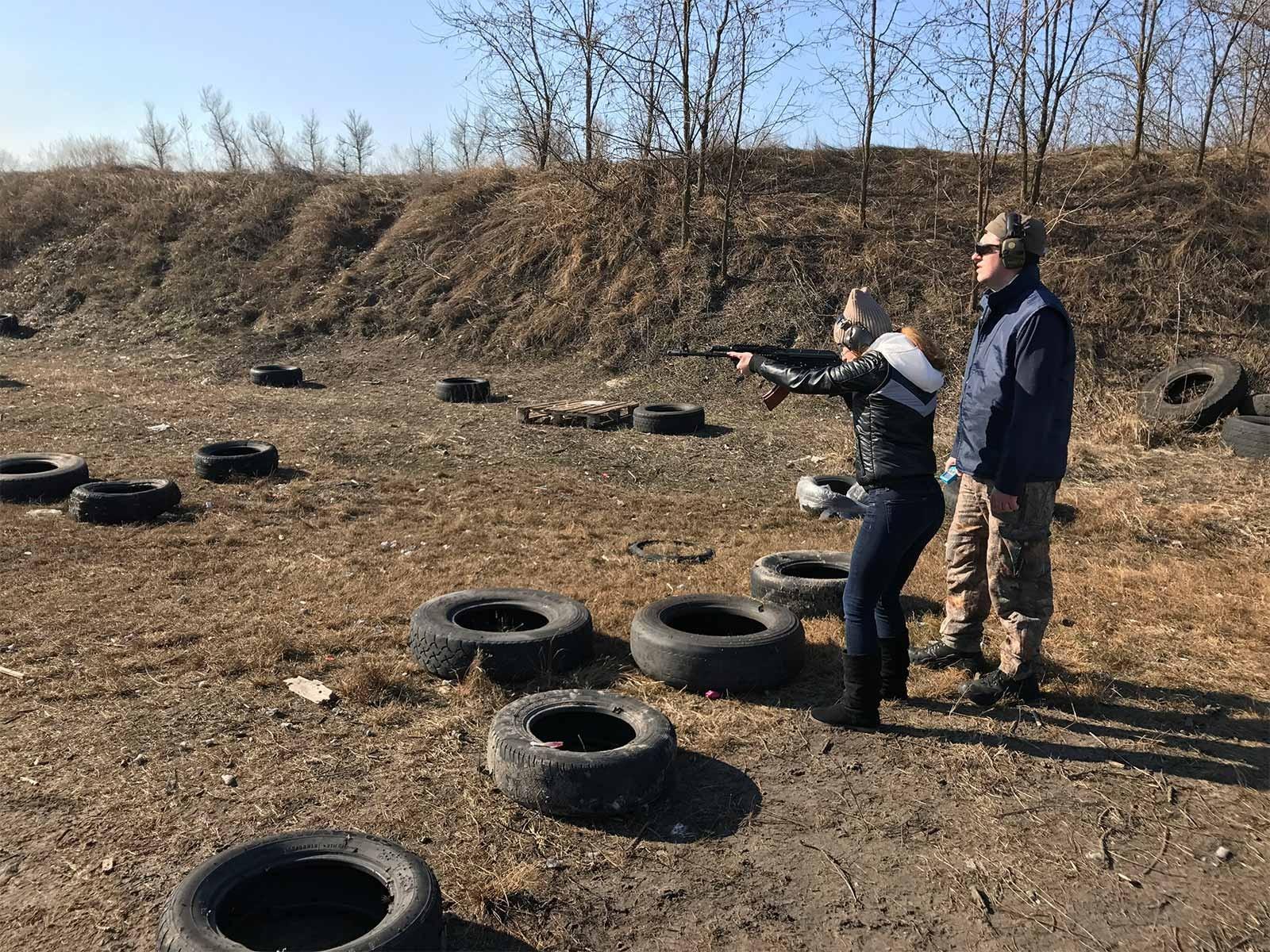 Курсанти вивчали новітні техніки стрільби