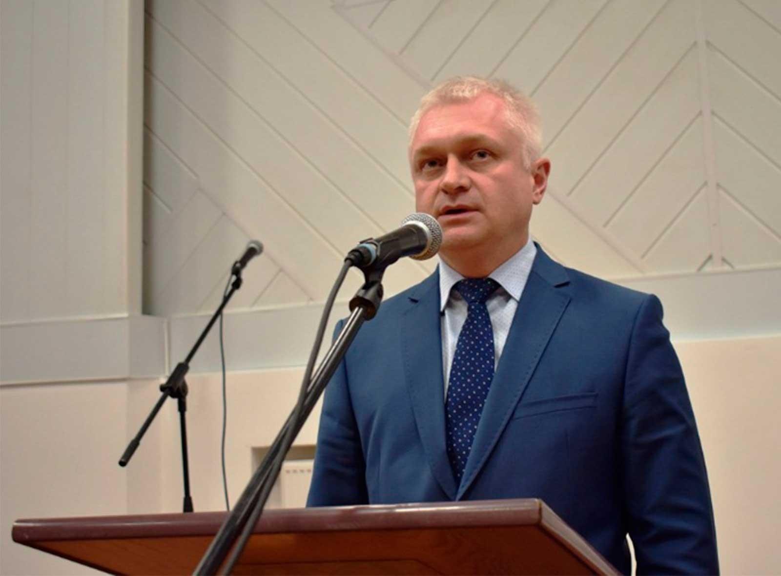 З вітальним словом до присутніх звернувся ректор ДДУВС Андрій Фоменко
