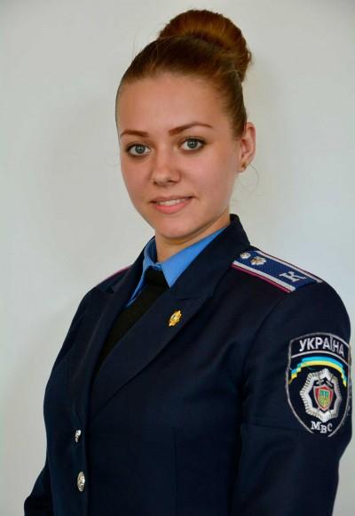 Попова Дар'я Вікторівна – голова відділу культурно-масового дозвілля студентсько-курсантської ради