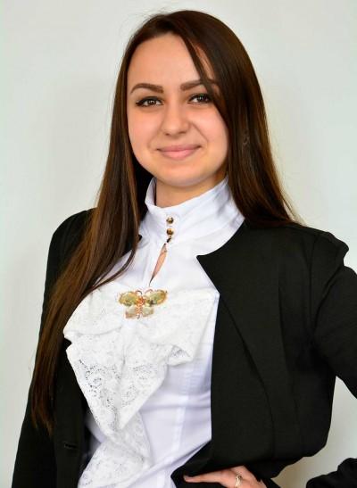 Терещенко Крістіна Петрівна – голова відділу соціально-гуманітарної роботи студентсько-курсантської ради
