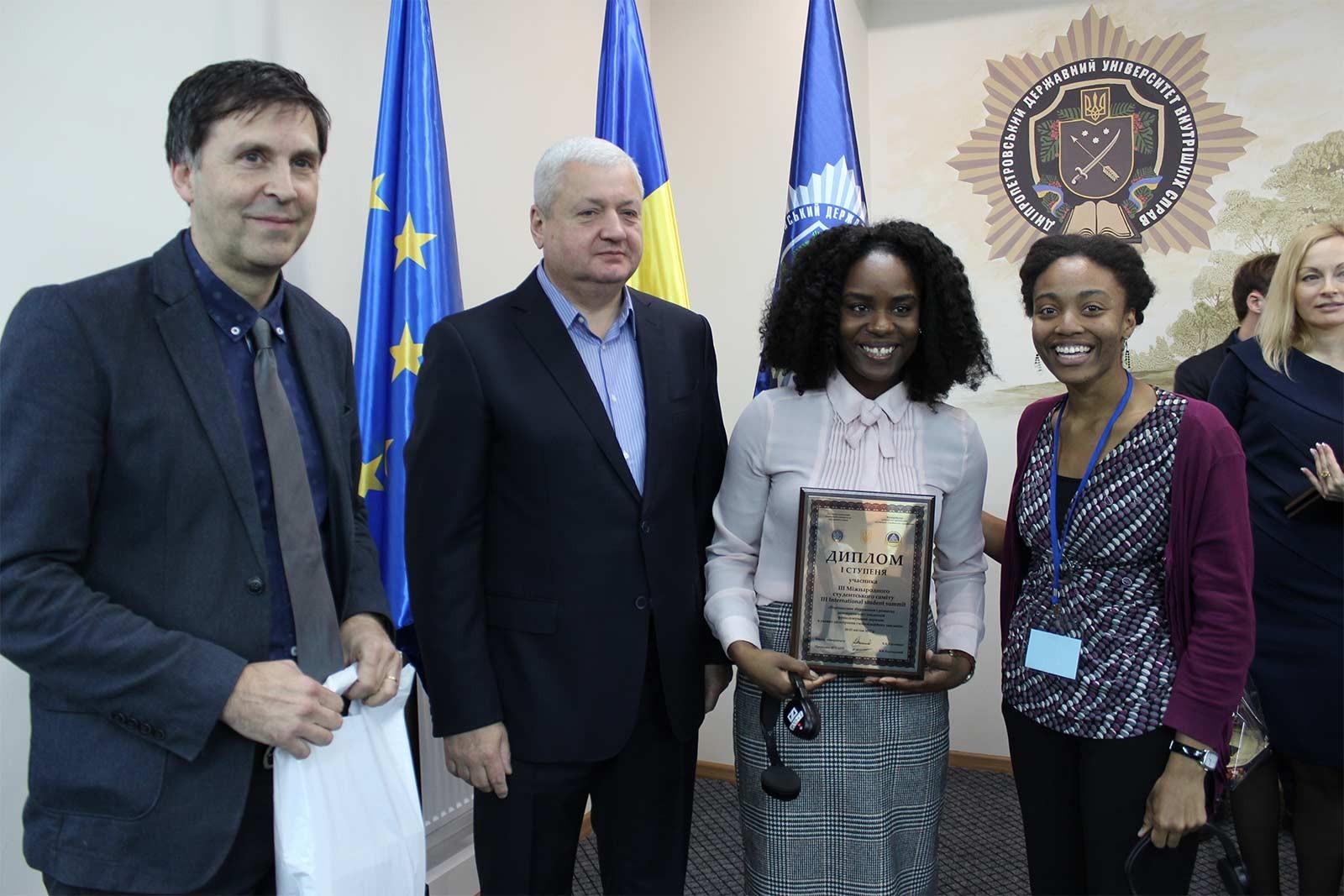 У Дніпропетровському державному університеті внутрішніх справ пройшов III Міжнародний студентський саміт