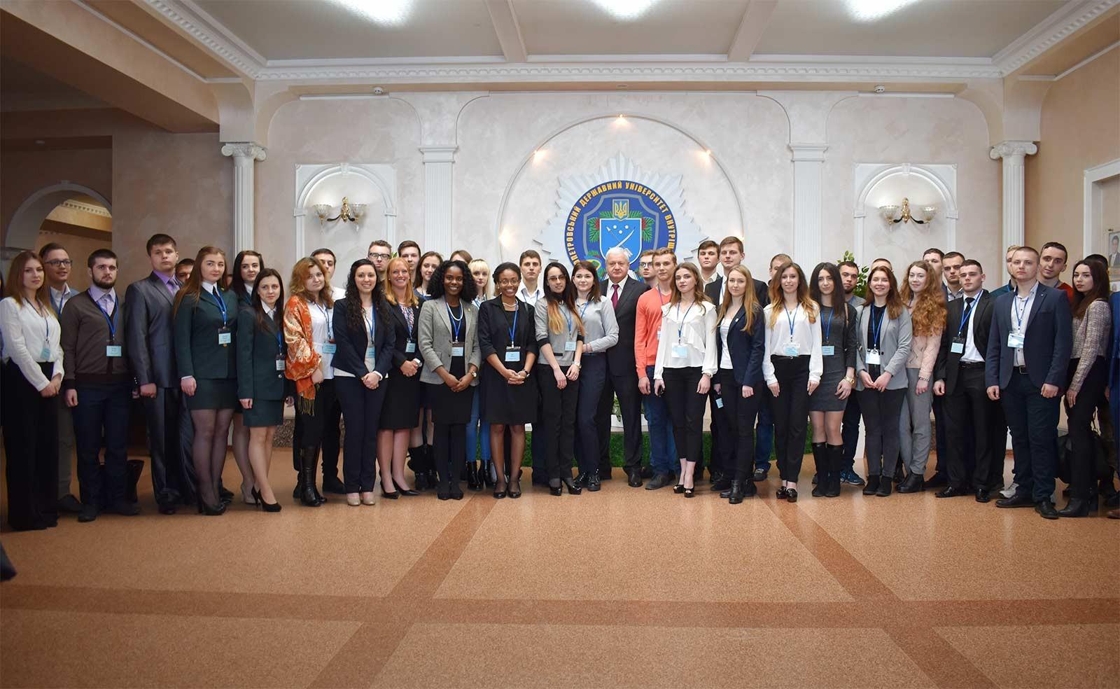 III Міжнародний студентський саміт у ДДУВС