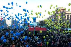 Курсанти та студенти ДДУВС взяли участь в урочистостях до Дня Соборності України