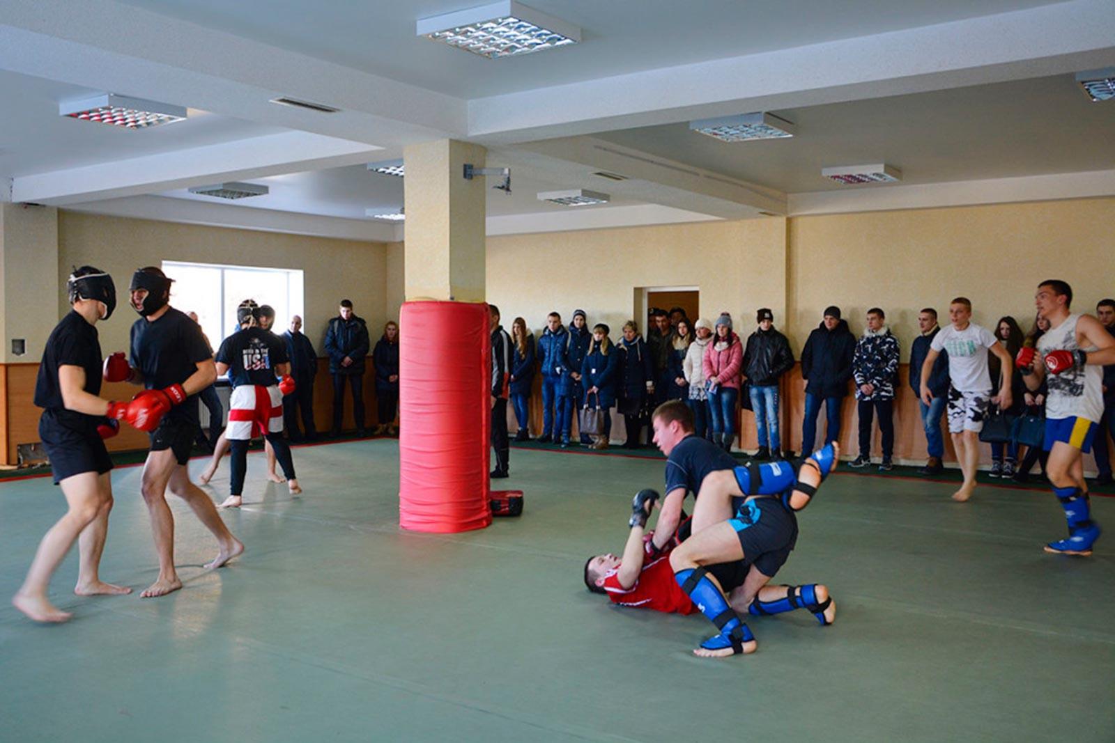 Спортивні секції ДДУВС
