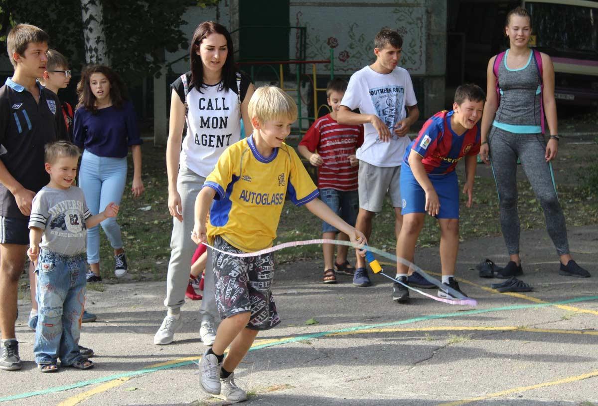 Спортивне свято для дітей-сиріт
