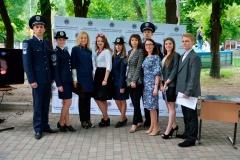 Представники ДДУВС взяли участь у профорієнтаційному заході присвяченому «Студентській весні-2016»