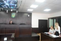 Модельне судове засідання за участю магістрів та суддів.