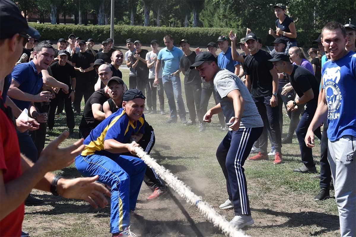 Міжфакультетське спортивно-масове свято