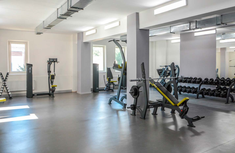 В Дніпропетровському державному університеті внутрішніх справ відкрився новий тренажерний зал