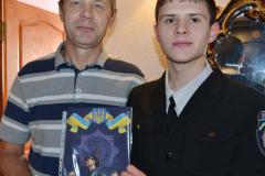 Студенти 1-го курсу привітали Єременка Дмитра Михайловича з 60-річним ювілеєм