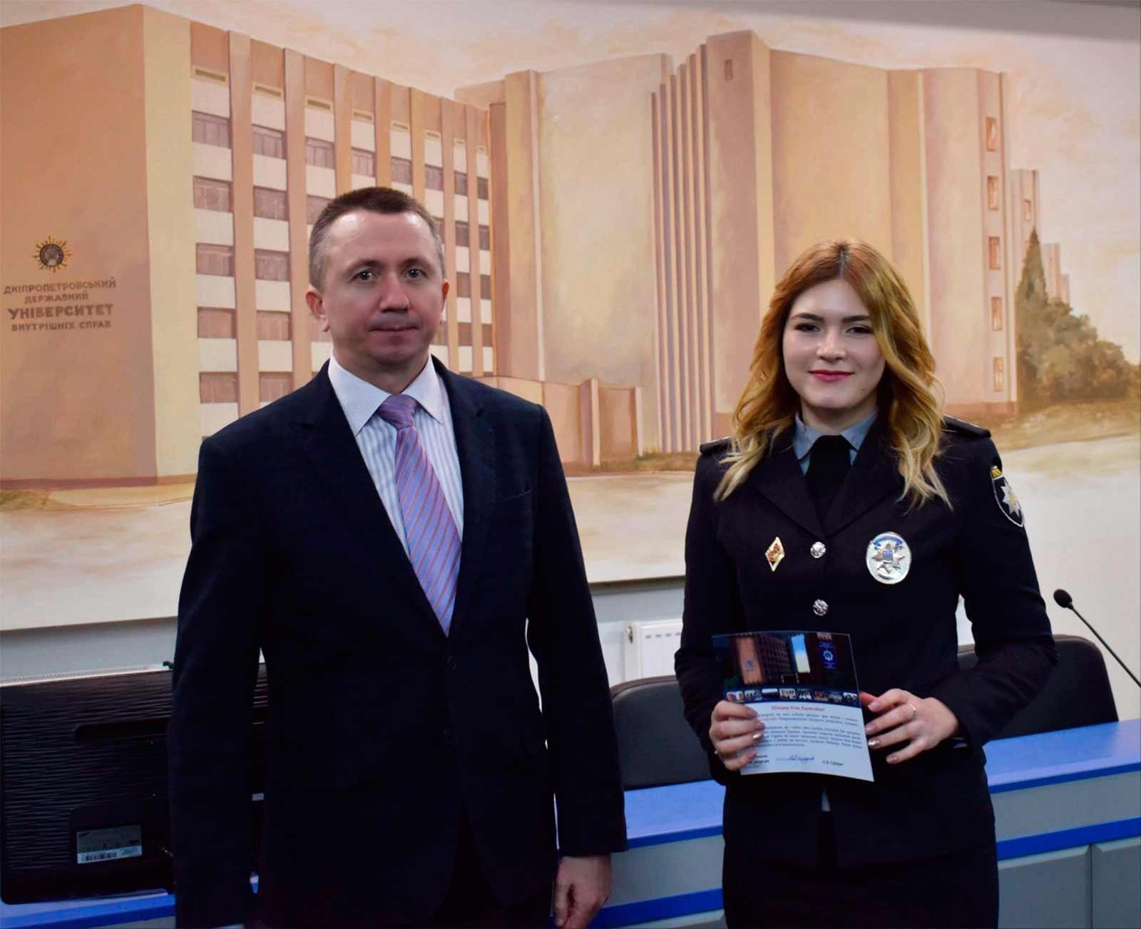 Привітав випускників т.в.о. першого проректора Володимир Ковбаса