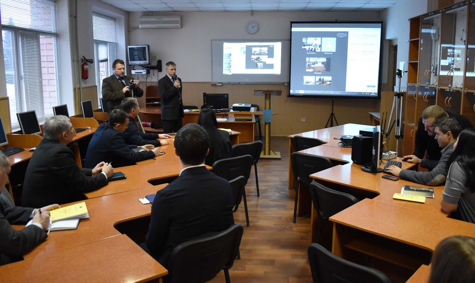 Використання сучасних інформаційних технологій в діяльності національної поліції України
