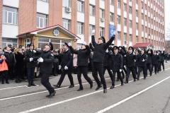 Завершилося свято прощанням із знаменом університету та останнім парадом монет