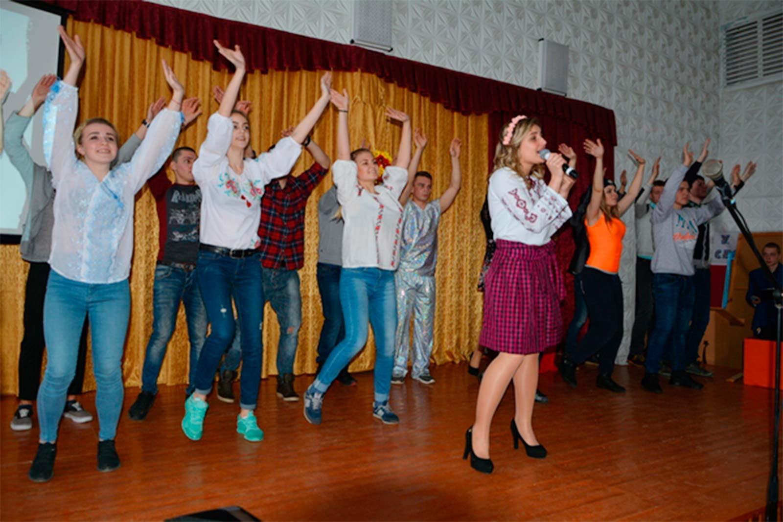 Учасники художньої самодіяльності Дніпропетровського державного університету внутрішніх справ