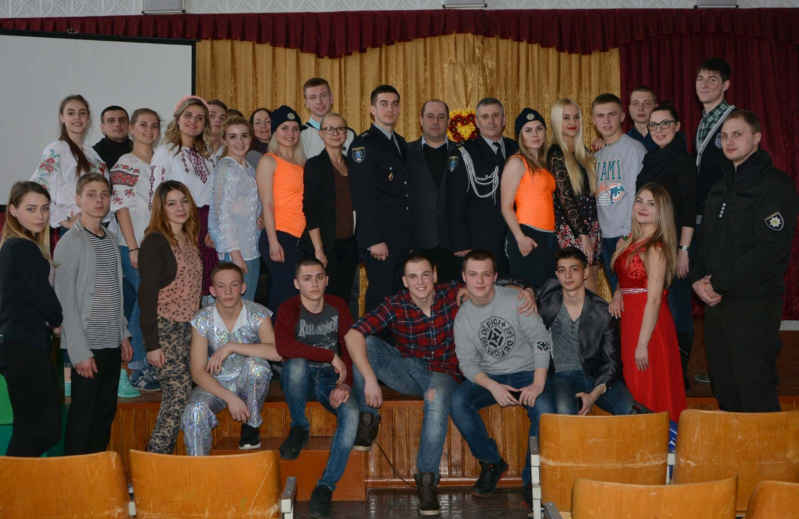 Виїзний День відкритих дверей для школярів Новомосковська