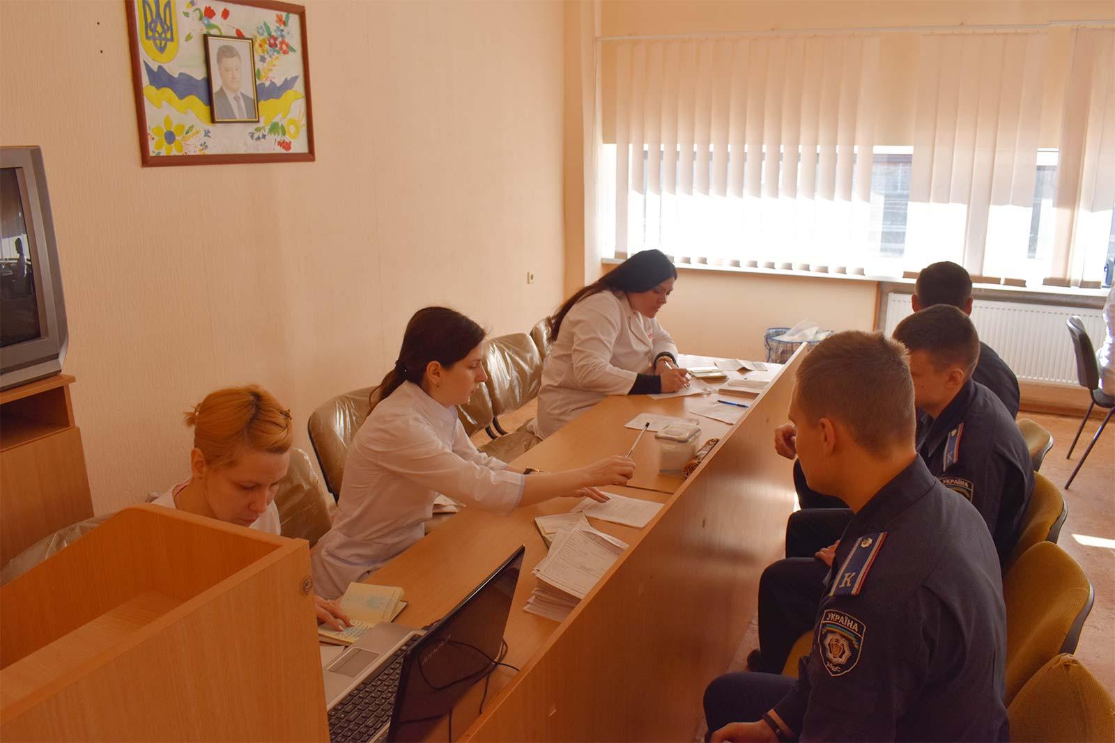 День донора у Дніпропетровському державному університеті внутрішніх справ