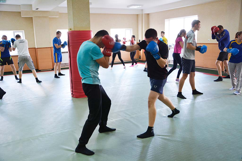 Заняття зі спеціальної фізичної підготовки. 2016 рік