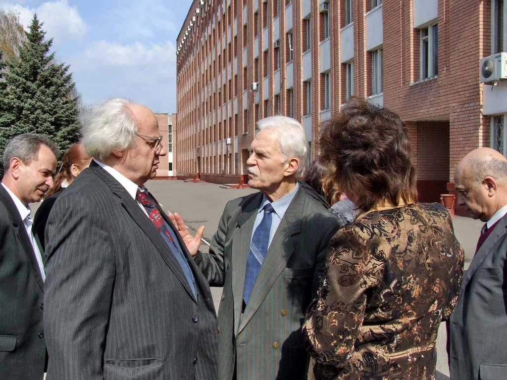 Гість університету – поет Іван Драч. 2008 рік