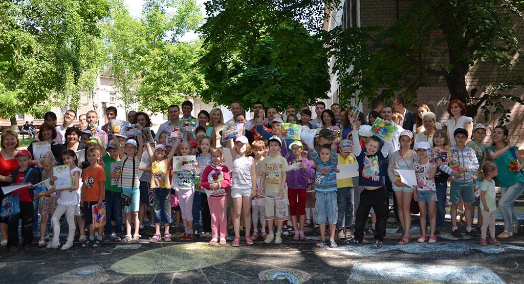 Участь працівників кафедри і суддів Дніпропетровського окружного адмінсуду в заходах до Міжнародного дня захисту дітей. 2015 рік