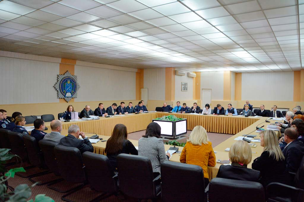 Засідання Вченої ради Дніпропетровського державного університету внутрішніх справ