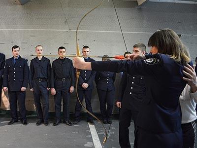 У ДДУВС пройшов Відкритий Чемпіонат міста зі стрільби з лука серед молоді та дорослих