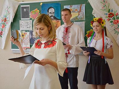На кафедрі соціально-гуманітарних дисциплін ДДУВС пройшло літературно-мистецьке свято