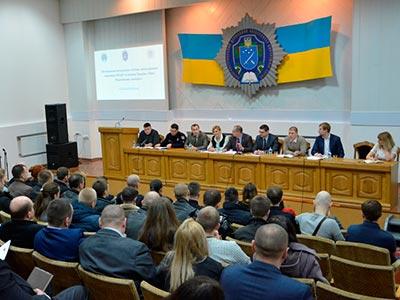 Патрульні поліцейські Дніпропетровська у ДДУВС