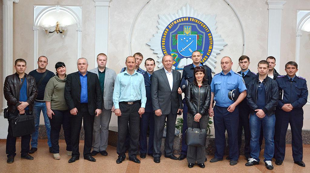 Викладачі кафедри адміністративного права, процесу та адміністративної діяльності ДДУВС провели заняття в інтерактивній класній кімнаті.