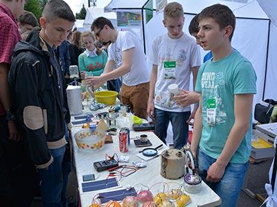 На базі Дніпропетровського державного університету внутрішніх справ відбувся «Пікнік науки»
