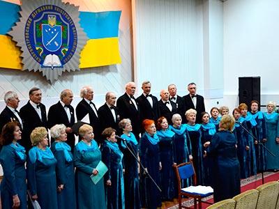 До університету завітав хор ветеранів війни і праці «Подвиг»
