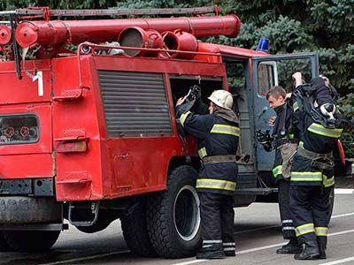 Змагання особового складу пожежних формувань ДДУВС