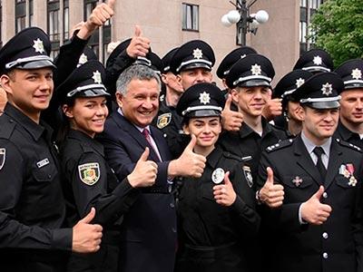 Кривий Ріг зустрів нову патрульну поліцію.