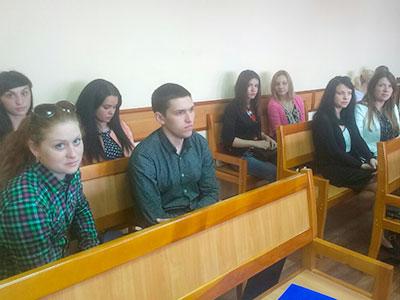 Курсанти ДДУВС побували на засіданнях апеляційного суду