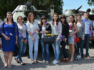 Зустріч з бійцями полку «Дніпро-1»