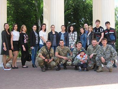 Студенти університету відвідали Всеукраїнський пісенний фестиваль «Пісні, народжені в АТО».