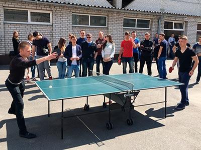 Курсанти університету змагалися з волейболу, футболу та настільного тенісу