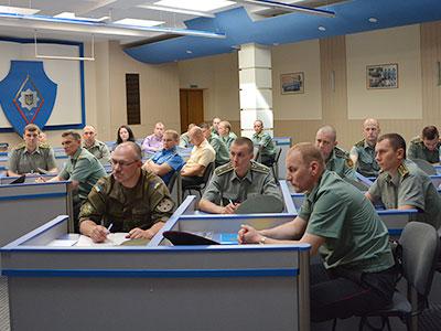 У ДДУВС відбулися заняття для керівників Нацгвардії України