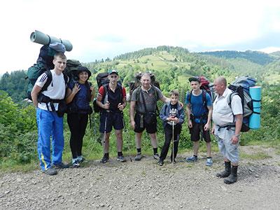 Курсанти університету здійснили туристичний похід Львівською та Закарпатською областями.