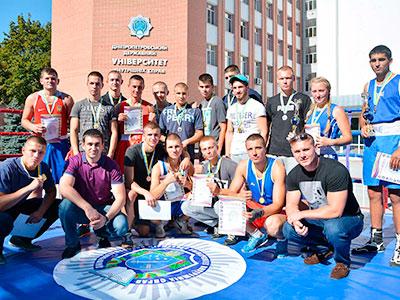 Відкрита першість міста Дніпро з боксу у Дніпропетровському державному університеті внутрішніх справ