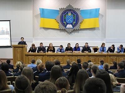Першокурсники ДДУВС долучилися до роботи Студентсько-курсантської ради університету