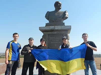 Туристична подорож курсантів ДДУВС просторами рідного краю