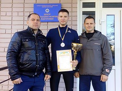 Чемпіонат України з легкої атлетики - курсант ДДУВС здобув срібло