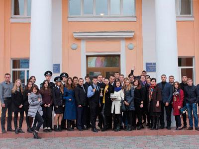 Курсанти ДДУВС стали фіналістами всеукраїнських змагань зі слідчих дій