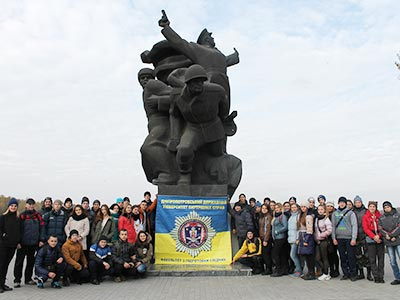 Курсанти університету відвідали селище Таромське – давнє козацьке поселення