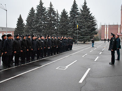 Щоденно 90 курсанті Дніпропетровського державного університету внутрішніх справ патрулюють вулицями Соборного району міста Дніпро