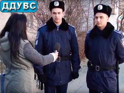 Курсанти Дніпропетровського державного університету внутрішніх справ охороняють громадський порядок на вулицях Дніпра
